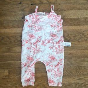 Zara 6-9 month baby girl romper